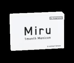 Miru 1month Menicon for Astigmatism (6er Box)