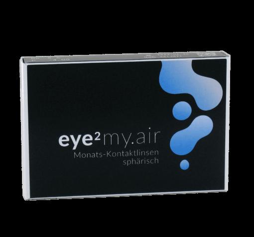 eye2 my.air Monats-Kontaktlinsen sphärisch (6er Box)