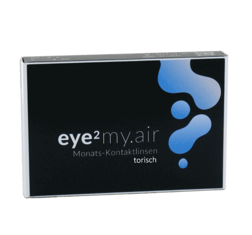 eye2 my.air Monats-Kontaktlinsen torisch (3er Box)