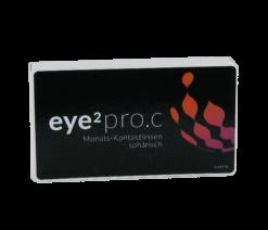 eye2 pro.c Monats-Kontaktlinsen sphärisch (3er Box)