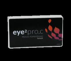 eye2 pro.c Monats-Kontaktlinsen torisch (3er Box)