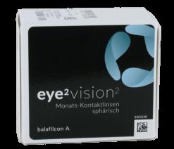 eye2 vision2 Monats-Kontaktlinsen sphärisch (6er Box)