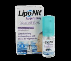 Lipo Nit Augenspray Sensitive (10ml) - Nachbenetzungsspray mit Liposomen und Dexpanthenol