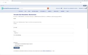 Kontaktlinsen-Newsletter-Abonnement-Verwalten
