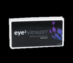 eye2 view.on+ Monats-Kontaktlinsen sphärisch (6er Box)